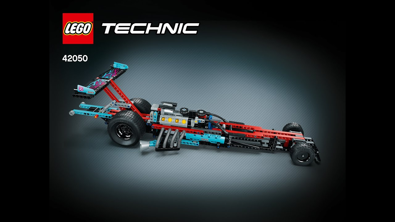 lego technic 2016 42050 supercharged dragster youtube. Black Bedroom Furniture Sets. Home Design Ideas