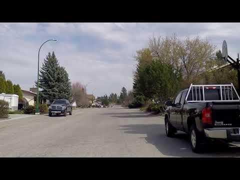 Cranbrook BC (British Columbia) Canada - Driving in the City - Tour 2018