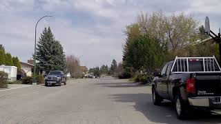 Cranbrook BC (British Columbia) Canada - Driving in the City - Tour 2018