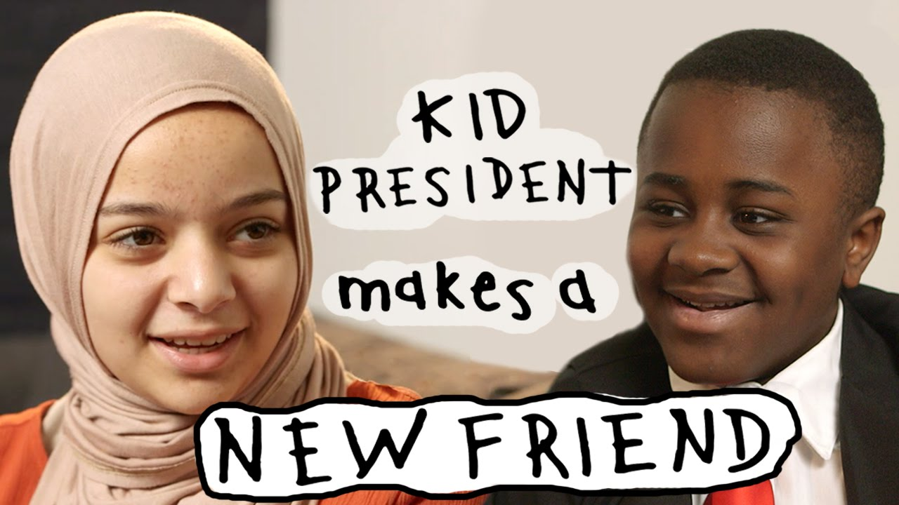 Kid President's Guide to Making a New Friend