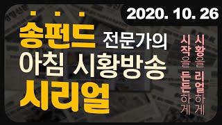 [주식] 송펀드 전문가의 아침 시황방송 시리얼[하락장을…