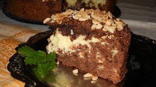 Тертый пирог с творогом. Рецепт