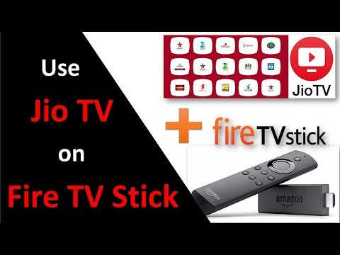 Use Jio TV on Amazon Fire TV Stick with Mouse Toggle