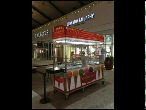 Ice Cream Kiosk Mobile Carts Youtube