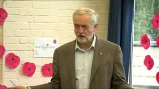 Jeremy Corbyn does.....Incy Wincy Spider