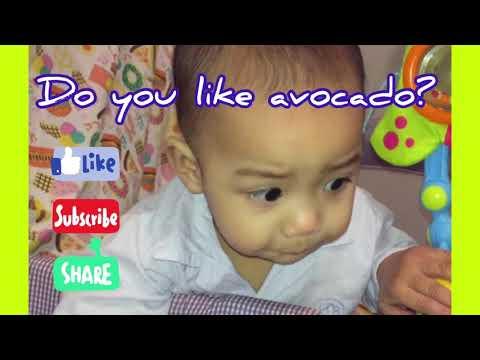 AVOCADO SUPER FOOD FOR BABY | 1minute | Priam Dos Zakk