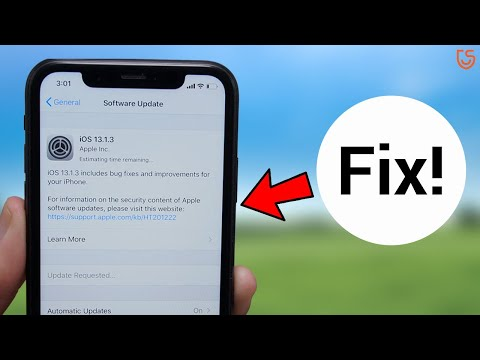 iOS 13 Update Stuck on Estimating Time Remaining? Here is the Fix