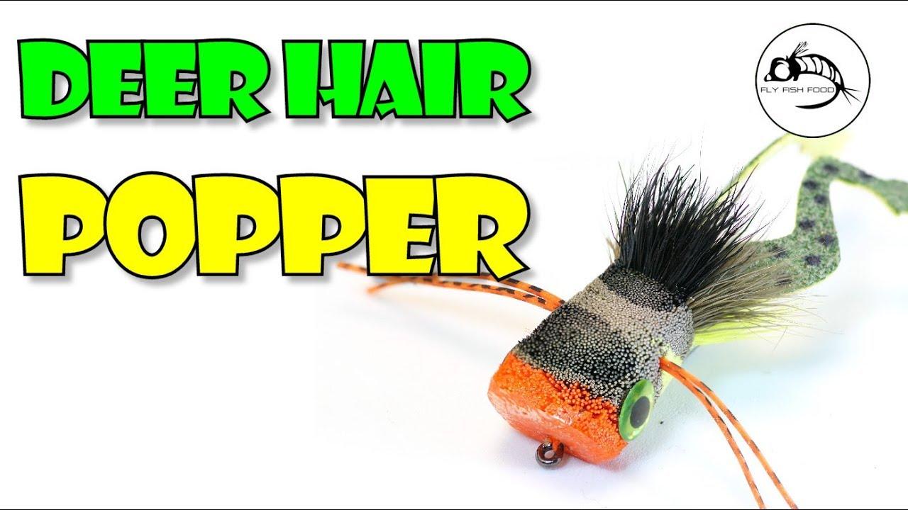DEERHAIR TOPWATER POPPER