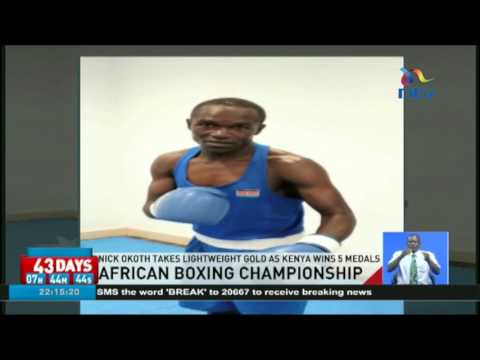 Nick Okoth takes Lightweight gold as Kenya wins 5 medals