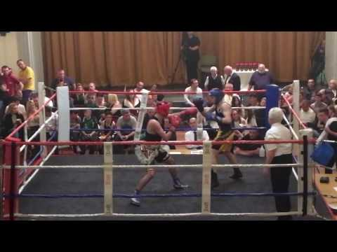 Kayden Diveney vs Cambell Hatton (son of Ricky Hatton) - at Rhyl Town Hall in Wales on 30/09/2016