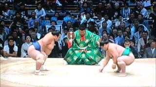 大相撲九州場所 平成28年11月17日 Sumo -Kyushu Basho.