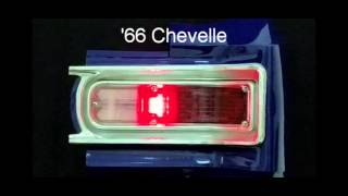 1966 Chevelle LED Sequential Tail Lights by Easy Performance Products