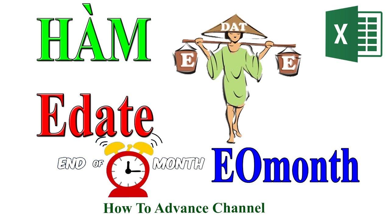 Nhắc Nhở Ngày Hết Hạn – Cuối Tháng – Hàm Edate And Eomonth