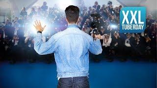 XXL TUBERDAY 2018 Vlog als YouTuber (ft. Mr Trashpack, Einfach Marci, Heracay, uvm.) | LeonTV