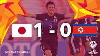 JAPAN vs DPR KOREA: AFC U23 Championship 2016 (Group Stage)