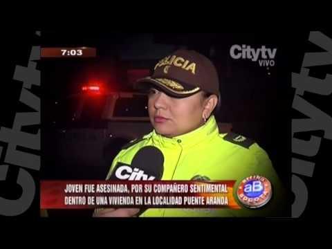 Joven asesinada por su compañero sentimental en Puente Aranda | CityTV | Arriba Bogotá | Febrero 5