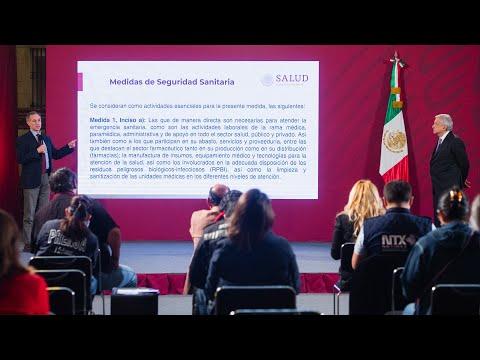 Con ayuda del pueblo, México superará COVID-19. Conferencia presidente AMLO