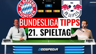 BUNDESLIGA VORHERSAGE #21 - Tipps und Wetten zum 21. Spieltag 2019/2020 mit Bayern vs Leipzig