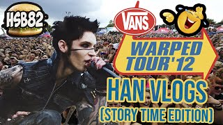 I Got Called Out By Andy Sixx At Warped Tour 2012 | Han Vlogs