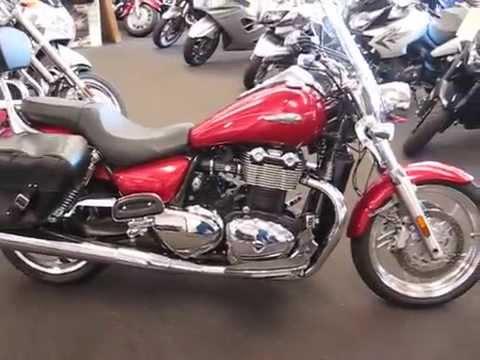 2010 Triumph Thunderbird ABS Special Edition - YouTube