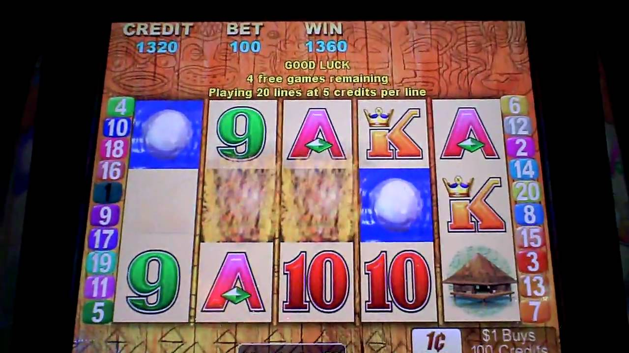 Tiki Slot Machine