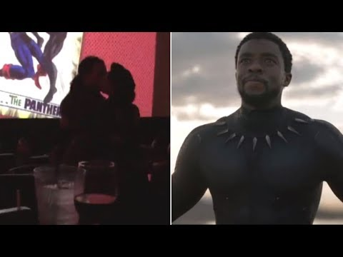 Couple Gets Engaged at 'Black Panther' Screening