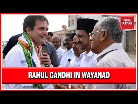 Rahul Gandhi In Kerala: Wayanad Welcomes Rahul Gandhi On His Thanksgiving Visit
