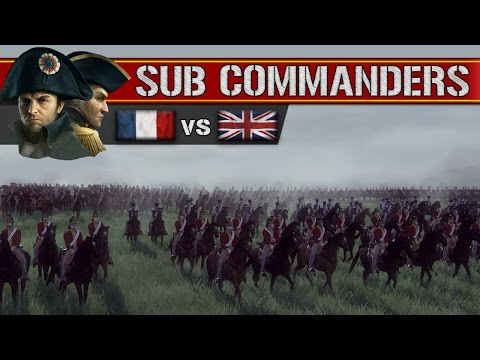 Napoleonic France vs United Kingdom (Sub Commanders)