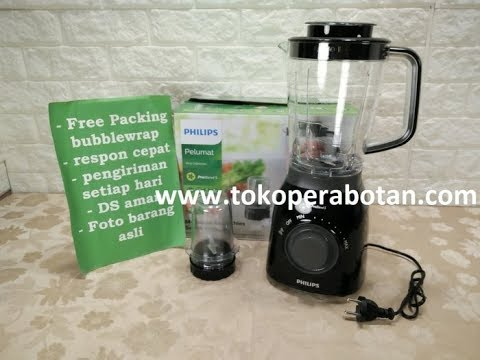 Blender Philips Plastik Hr 2157 Tritan Duravita Jar 2ltr Youtube
