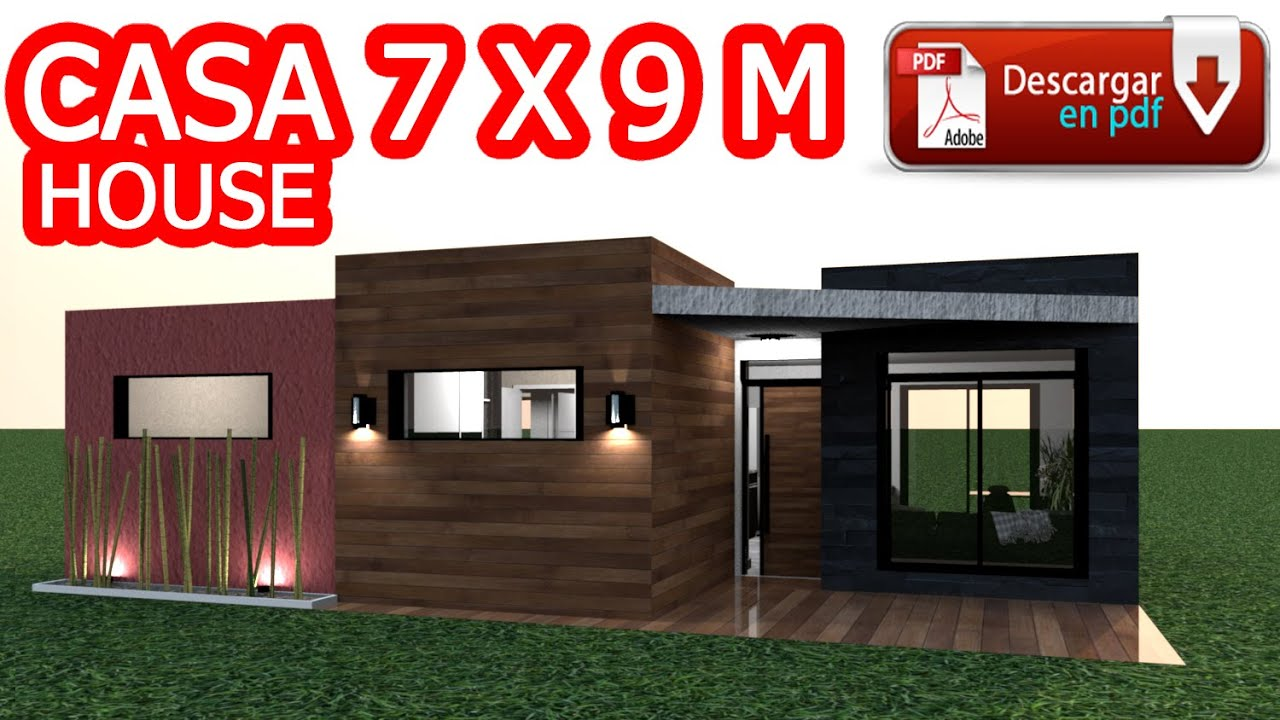 Casa 7 x 9 m / House 7 x 9 m / Rumah 7 x 9 m