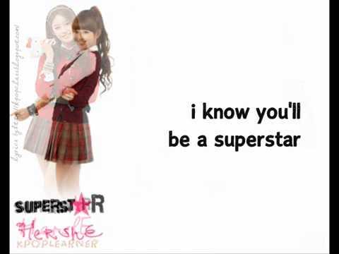 Superstar HershE Dream High 2 OST) LYRICS   YouTube