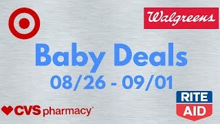 The BEST Baby Deals for 8/26 - 9/01 | AMAZING Coupons!!!