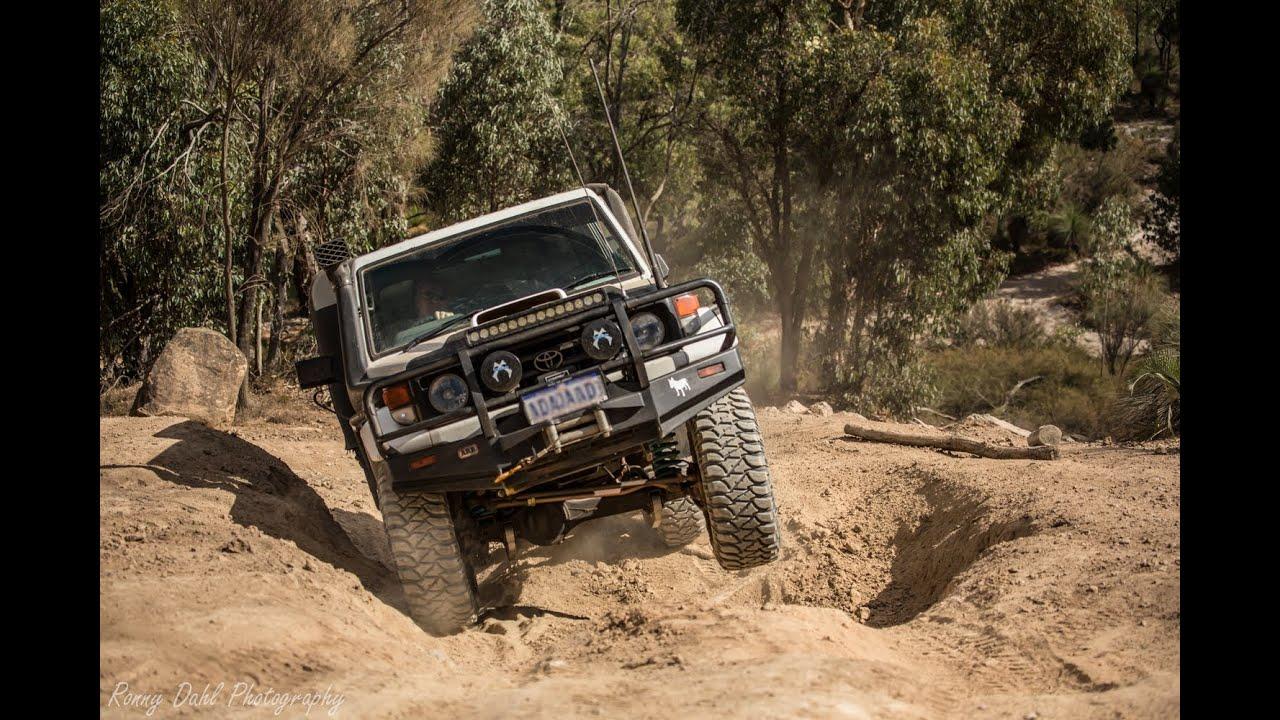 4x4 Off Road Perth Hills Mundaring Powerline Track Youtube