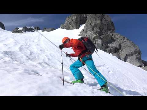Crossing Bergschrunds  - Ski Mountaineering Tips Ep.4
