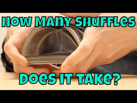 How Many Shuffles Does it Take to Fully Randomize a Deck of Cards?