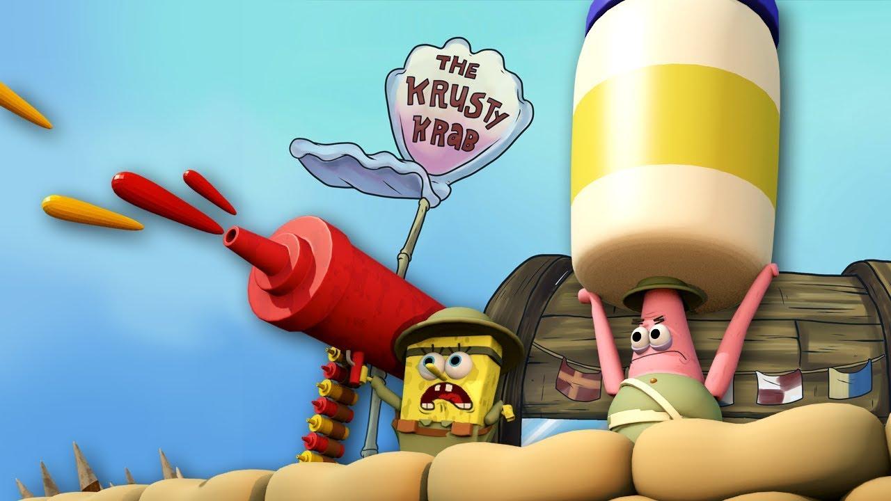 Roblox Animation Spongebob Krusty Krab Food Fight Spongebob