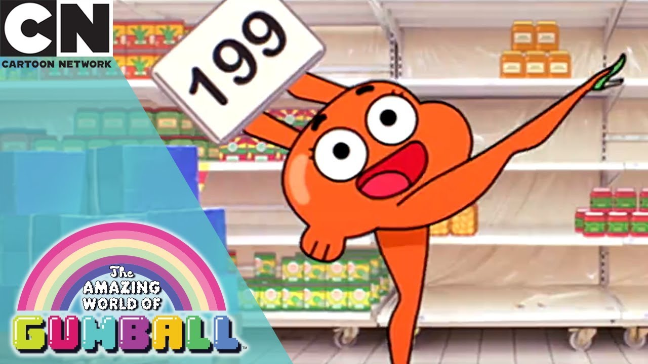 the amazing world of gumball how to be a super mum cartoon