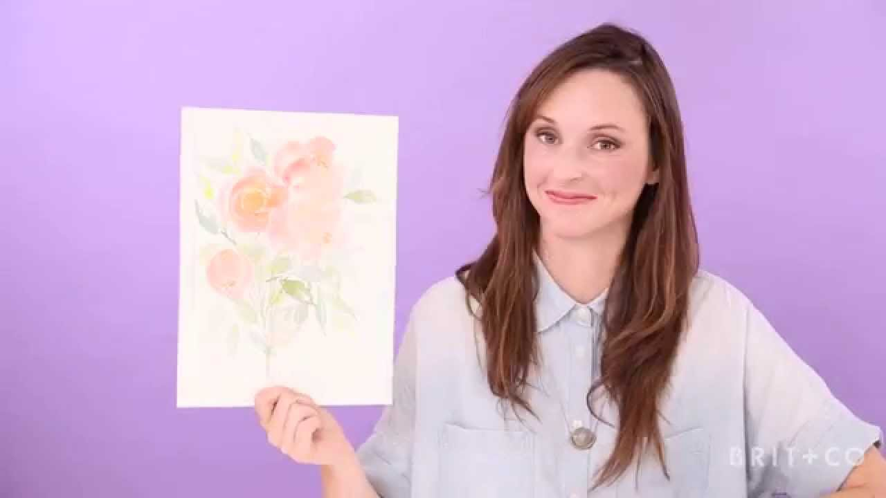 Intro to Watercolor Painting with Jenna Rainey Online Class