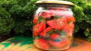 Салат из помидор на зиму  Заготовки на зиму