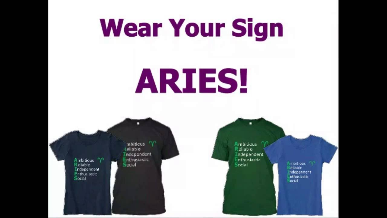 Aries Personality T-Shirts