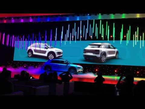VIVO: Nuevo C4 CACTUS recién presentado en el #CitroenBrandDay Miralo en el próximo Autotecnica TV