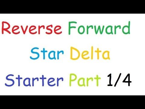 Wiring Diagram For Forward Reverse Single Phase Motor Ado Piso Wifi Star Delta Starter Part 1 4 Youtube