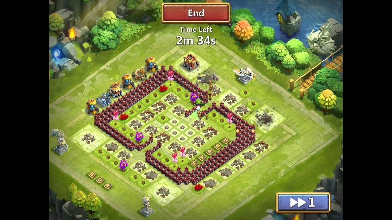 Castle Clash: Hacker Attacks - YouTube