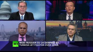 CrossTalk on downing of Russian military jet: Dangerous Skies