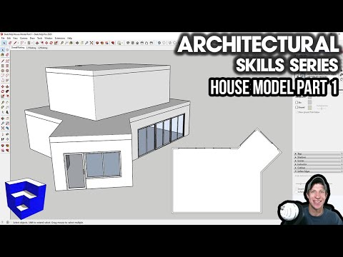 HOUSE MODELING In SketchUp 2020 Part 1 - Setup And Windows