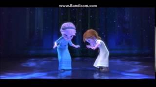 冰雪奇緣 玩雪片段 (中文重配音版本)