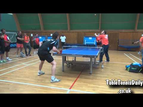 Jan Ove Waldner vs TableTennisDaily's Dan!