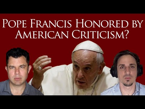 Pope Francis Honored by American Criticism