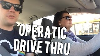 Singing Opera in a Fast Food Drive Thru | Super Amazing Project