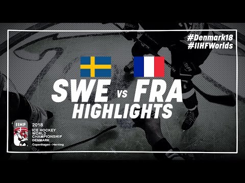 Game Highlights: Sweden vs France May 7 2018 | #IIHFWorlds 2018
